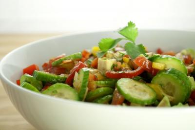 Thai Tomato Salad by Callie England