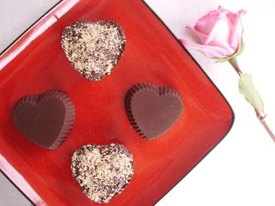 True Love Chocolate Hazelnut Hearts by Natalia