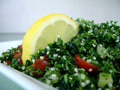 Fresh Herb & Kale Tabbouleh by Natalia