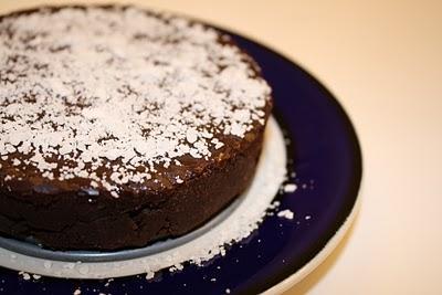 Chocolate Fudge Tart by Mila Ilina