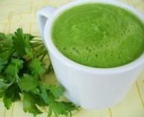 Savory Green Smoothie by Natalia