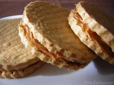 Peanut Butter Sandwich Cookies by Ingrid Weithers-Barati