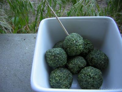Broccoli Bites by Ingrid Weithers-Barati