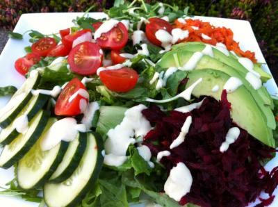 Abundant Garden Salad