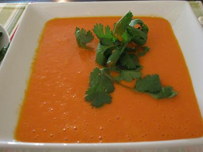 Red Pepper and Coconut Soup