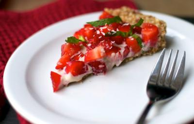 Essence of Spring Strawberry Tart