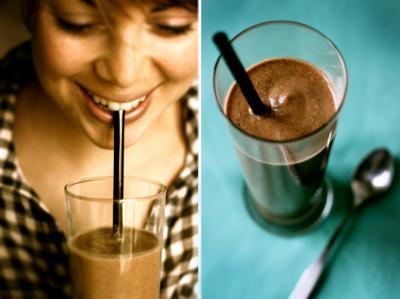 Raw Chocolate Milkshake Miracle