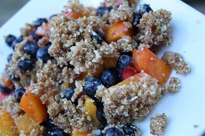Mango Berry Crumble