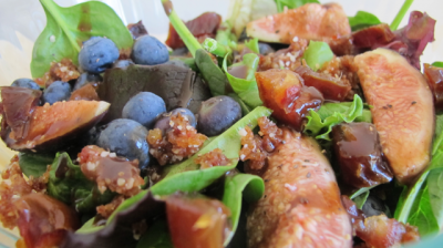 Fig-a-licious Mint and Blueberry Salad