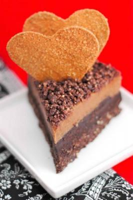 Raw Chocolate Chili Cheesecake