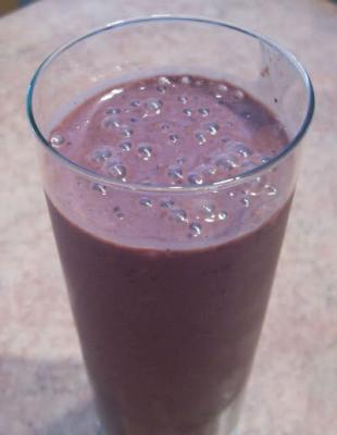Chocolate-Hazelnut Antioxidant Smoothie