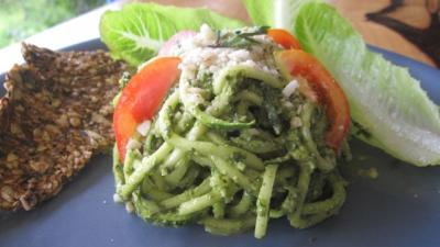 Living Pesto Pasta