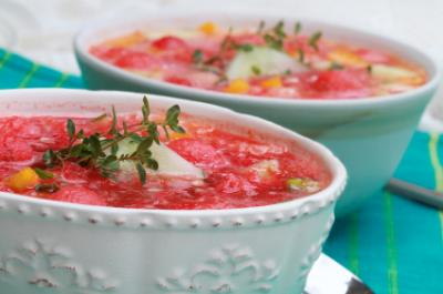Sweet Watermelon Gazpacho