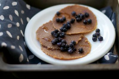 Maple Maca Pancakes