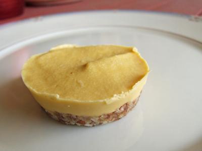 Raw Vegan Mini Mango Lime Cheesecakes