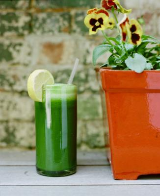 Basic Green Juice Recipe!