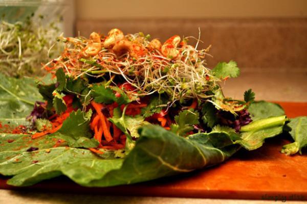 Veggie Veggie Wrap