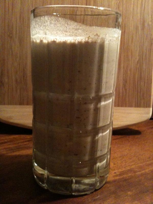 Raw Mint Chocolate Vanilla Mylkshake by Bethanne Wanamaker