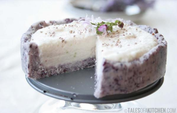 Coconut Lime Cream Cake