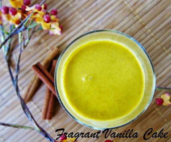 Raw Pumpkin Spice Coconut Milk