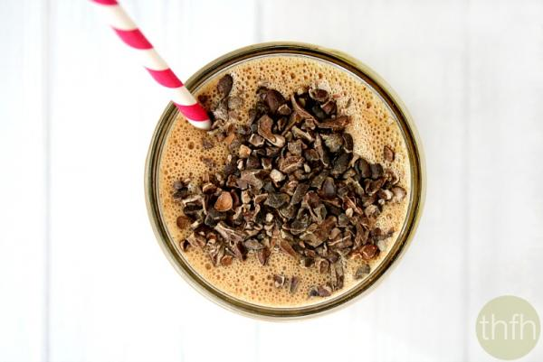 Clean Eating Chocolate Peanut Butter Protein Smoothie