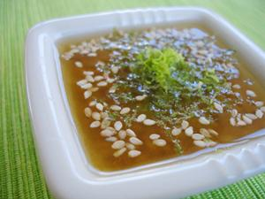 Sesame Ginger Dressing by Natalia