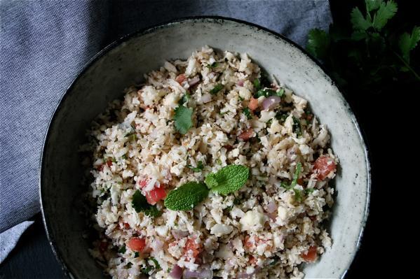 Simple Cauliflower Tabbouleh
