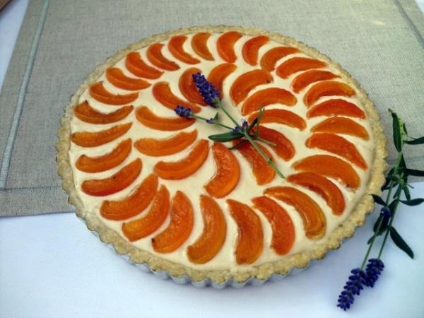 Swiss Apricot Tart by Carla Aguas