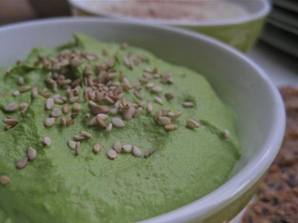 Edamame Spinach Dip