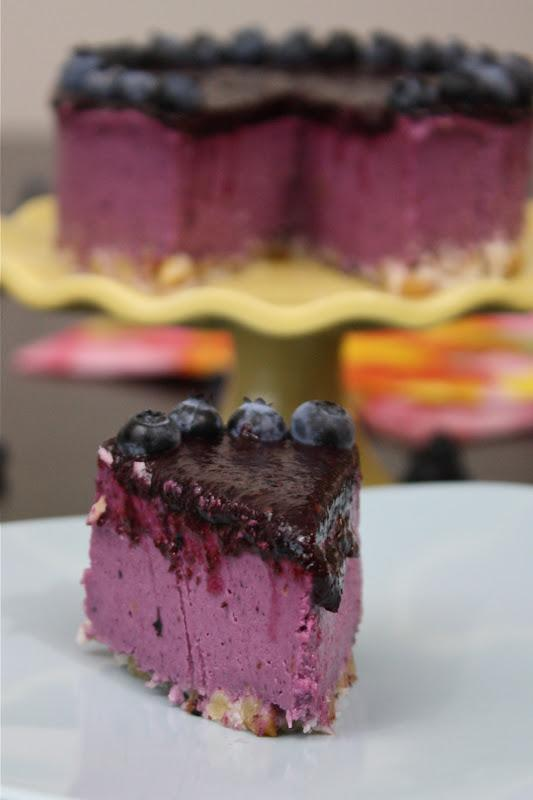 Easy Berry Bliss Cheesecake