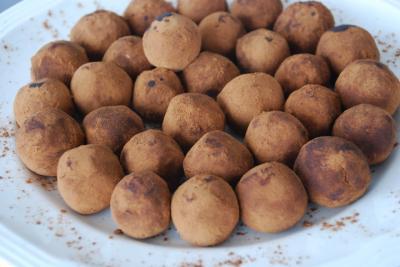 Carob Mint Truffles by Paige Brummet