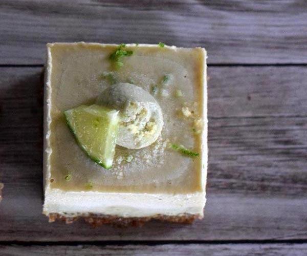 Raw Pina Colada Cheesecake