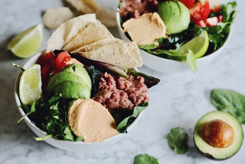 How to Construct the Perfect Plant Based Taco Salad