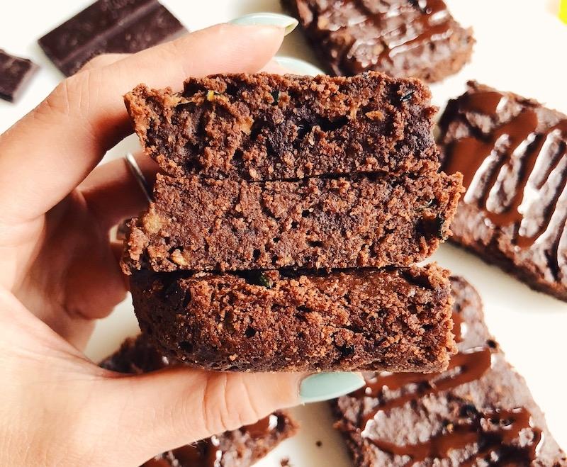 Rawmio Vegan Paleo Zucchini Brownies